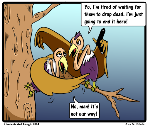 Vulture hunger
