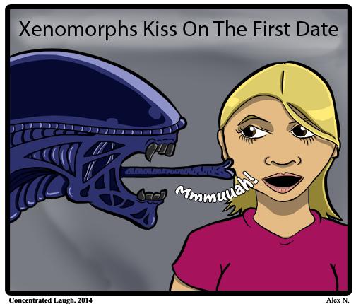 xenomorph first kiss