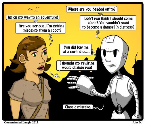 Robot mysogyny